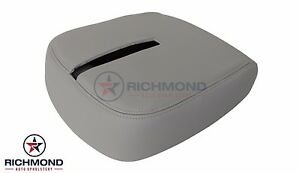 2010 2011 2012 Chevy Avalanche center Console Storage Compartment Lid Cover Gray