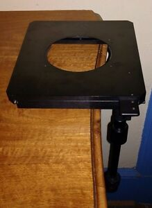 Nikon Adjustable Mechanical Stage For Diaphot Microscope missing Stage Plate