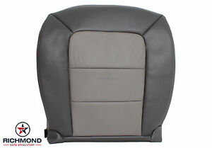 2004 Ford Explorer Sport Trac driver Side Bottom Leather Seat Cover 2 tone Gray