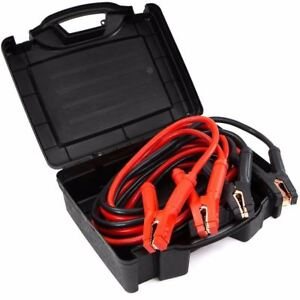 Comercial Heavy Duty 25 Ft 0 Gauge Booster Cable Cables Emergency Power Jumper