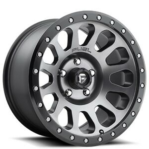 4rims set Off Road 18 Fuel Wheels D601 Vector Anthracite Rims