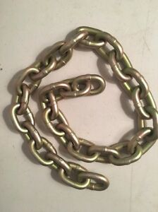 36 Weldless Heavy Steel 0 40 Chain Finn 190007 For Hydro seeder T90t