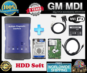 Gm Mdi Multiple Diagnostic Interface Car Scanner Ecu Obd2 2017 10 Hdd Software