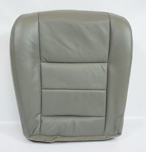 2003 2004 2005 2006 2007 Ford F250 F350 Lariat Driver Bottom Seat Cover Gray