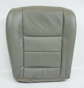 2002 2003 2004 2005 2006 07 Ford F250 F350 Lariat Driver Bottom Seat Cover Gray