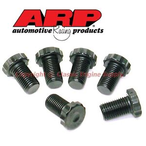 Arp Automatic Flexplate Bolts Fits Sb Chevy Bb V6 With 1 Piece Rear Main Seal