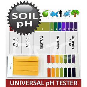 1 14 Ph Paper For Body Soil Water Urine Saliva 80 Strips No ds Free S h