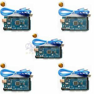 5xmega2560 Control Development Board Atmega16u2 For Arduino Compatible Usb Cable