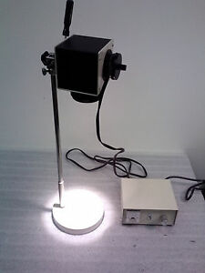 Nikon Microscope Illuminator W Stand And Hitachi Power Supply