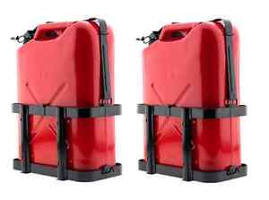 Smittybilt Jerry Gas Can Holder 2798 Universal Fit Set Of Two Universal Fit