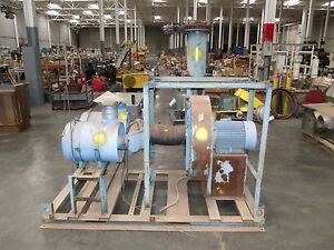 32 Blower Fan With Toshiba 20hp Motor Pneumatically Controlled Dampers