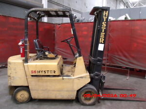 Hyster Gas Powered Industrial Truck Forklift
