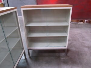 Office Metal Cabinets With Sliding Glass Doors 2 Units