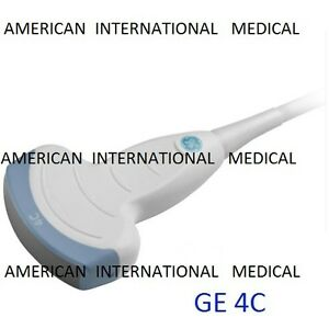 Ge 4c Probe Transducer ge Vivid 7 Compatible 60 Days Warranty