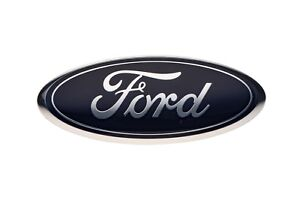 2005 2007 Ford F250 F350 Super Duty Front Grille Blue Ford 9 Inch Emblem Oem New