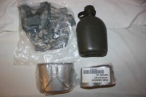 US Military Issue Canteen Cup and ACU Cover with Stove Complete Set Lot ALL NEW $39.95