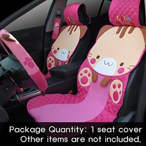 Cute Car Jeep Seat Covers Protector For Girls Mineco Universal Seat Cover Pink