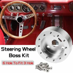 Kylin 1 Steering Wheel Hub Adapter Spacer 6 Hole Fit Grant Apc 3 Hole