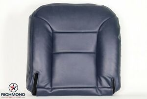 1996 Chevy Suburban C k 1500 2500 Lt driver Side Bottom Leather Seat Cover Blue