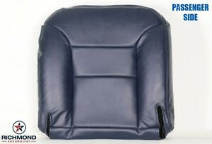 95 99 Chevy C K Suburban Tahoe Diesel Passenger Bottom Leather Seat Cover Blue