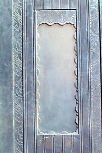 Pair Of American Art Deco Metal Elevator Door Panels