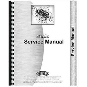 Engine Service Manual For Buda 6dt 468