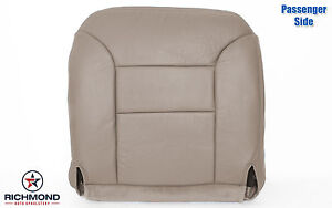 1996 Chevy Tahoe Lt Ls passenger Side Bottom Replacement Leather Seat Cover Tan