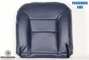 1995 1999 Chevy Tahoe Suburban C k passenger Side Bottom Leather Seat Cover Blue