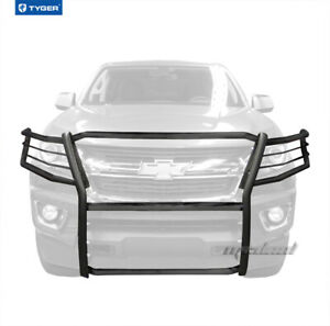 For 2015 2017 Chevy Colorado Front Bumper Grille Guard Black