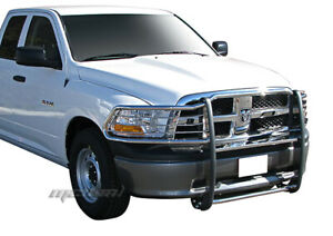 New Stainless Steel Bumper Grille Guard Fits 2010 2017 Dodge Ram 2500 3500