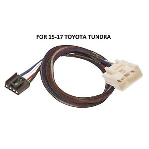 Tekonsha Trailer Brake Control Wiring Adapter For 15 17 Toyota Tundra 2plug Play