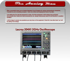 Lecroy Waverunner 204xi 2ghz 4 Ch Oscilliscope With Power Measurement Software
