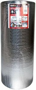 48in X 125ft Air Double Reflective Polyethylene Insulation Roll Heat Reduction