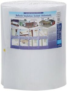 Diy 24 In X 100 Ft White Single Reflective Insulation Pole Barn Insulating