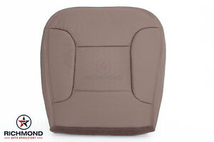 1995 Ford Bronco Eddie Bauer Driver Bottom Replacement Leather Seat Cover Tan