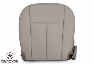 2007 2008 2009 2010 Ford Expedition driver Side Bottom Leather Seat Cover Gray