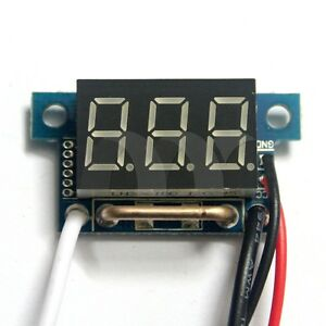0 36 Blue Led Digital Dc Ammeter Amp Mini Current Panel Meter Dc 0 10a