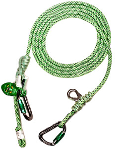 Arborist Lanyard Hipstar Flex Moveable Prusik Pulley Slack Tender 13 Ft