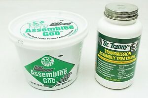 Transmission Rebuild Assembly Combo 2 Pack Dr Tranny Green Lube Treatment
