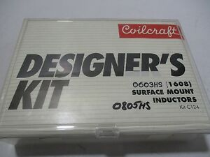 Coilcraft Designer s Kit C124 0603hs 0805hs Surface Mount Inductors
