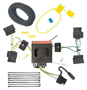 Trailer Wiring Harness Kit For 08 14 Ford E 150 E 250 Econoline E 350 Super Duty
