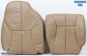 1998 2001 Dodge Ram 1500 Slt passenger Side Complete Leather Seat Covers Tan
