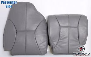 1998 2001 Dodge Ram 1500 Slt passenger Side Complete Leather Seat Covers Gray