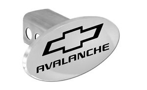 Chevrolet Avalanche Logo Trailer Tow Hitch Cover Plug Emblem 2 Receiver Plug