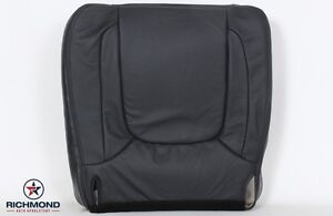 05 Dodge Ram 2500 Laramie Driver Side Bottom Replacement Leather Seat Cover Gray