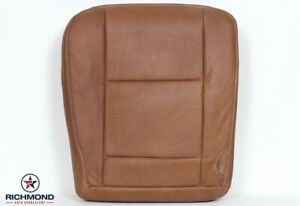 2006 Ford F350 King Ranch Driver Side Bottom Replacement Leather Seat Cover
