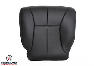 2000 2001 Dodge Ram 1500 Slt Driver Side Bottom Leather Seat Cover Dk Dark Gray