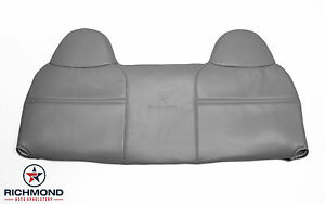 2003 2004 Ford F250 F350 Xl Work Truck lean Back Bench Seat Vinyl Cover Gray