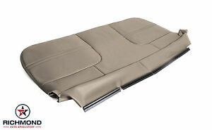 2002 Ford F250 F350 F450 F550 Xl Work Truck bottom Bench Seat Vinyl Cover Tan