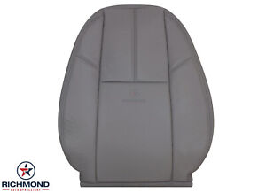 2007 2013 Chevy 2500hd 3500 Work Truck Driver Lean Back Vinyl Seat Cover Gray